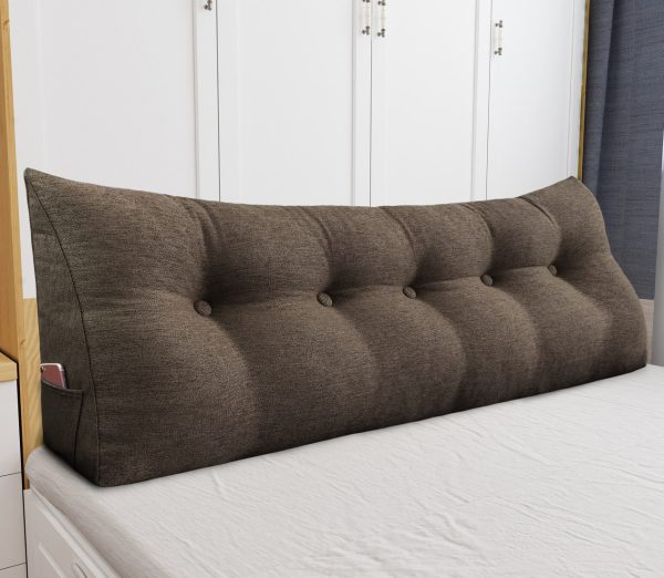 Reading pillow 59inch coffee 04