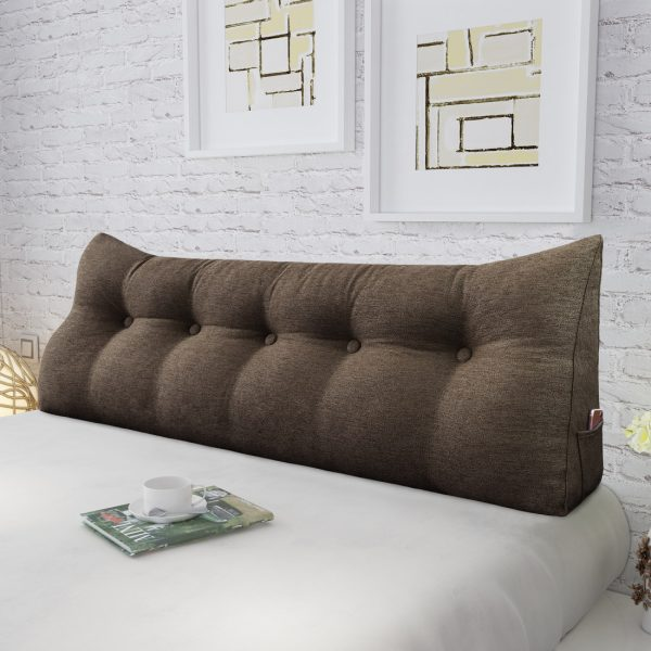 Reading pillow 59inch coffee 05