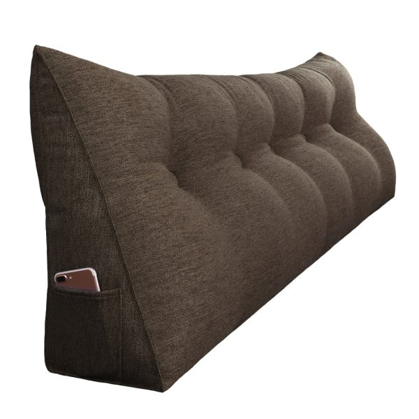 Reading pillow 59inch coffee 07