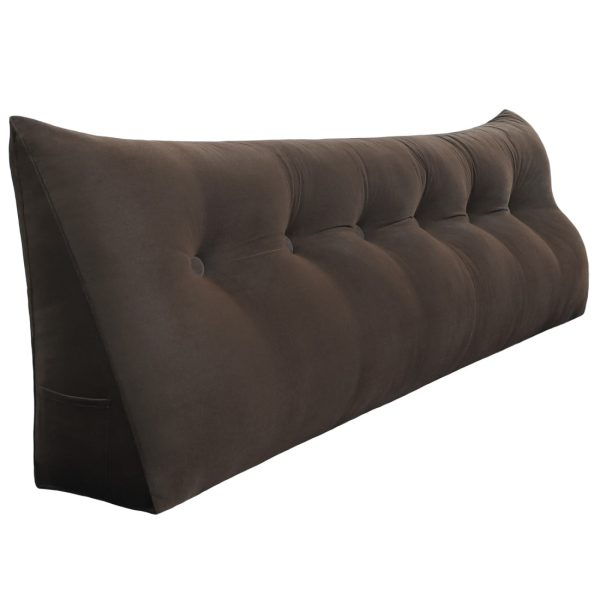 Reading pillow 71inch Coffee 01 1