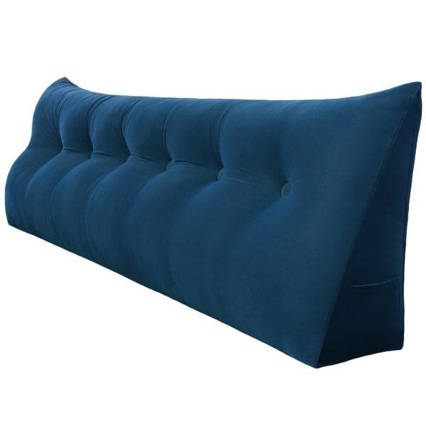 Reading pillow 71inch Dark Blue 01