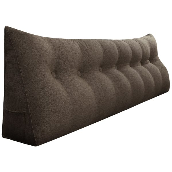 Reading pillow 76inch coffee 01