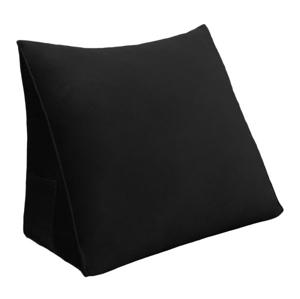 Wedge pillow 18inch Black 01