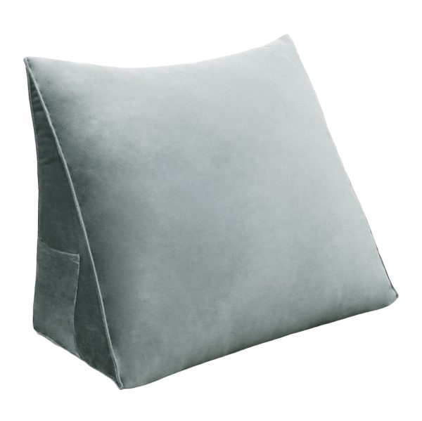 Wedge pillow 18inch Gray 01