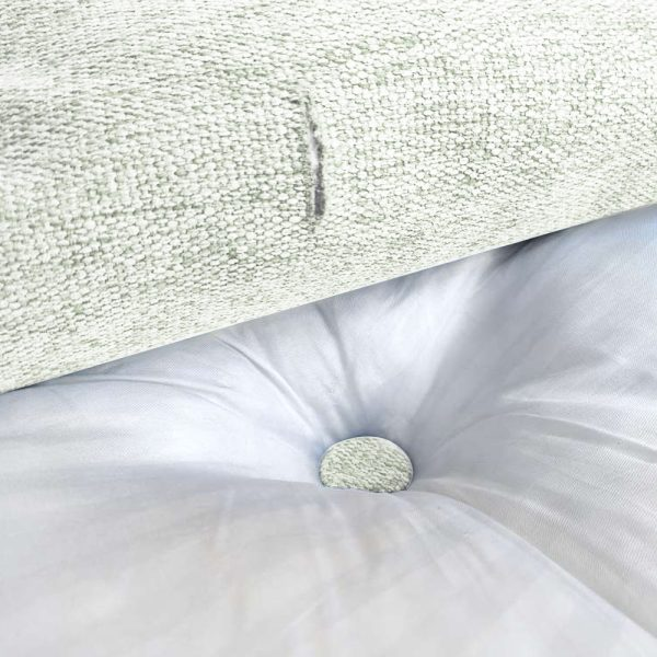 Wedge pillow 18inch ivory 102