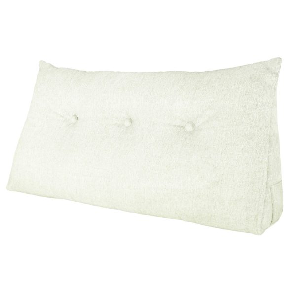 Wedge pillow 39inch ivory 01