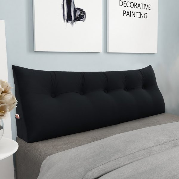 Wedge pillow 59inch Black 02
