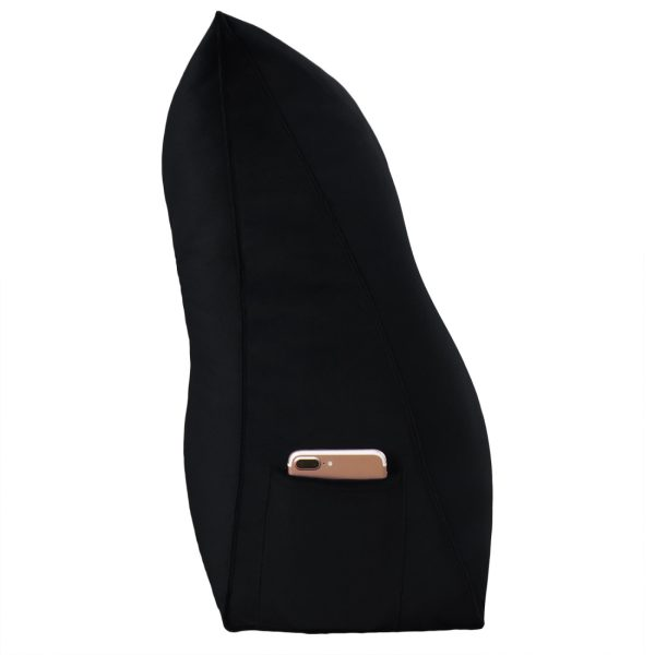 Wedge pillow 59inch Black 16
