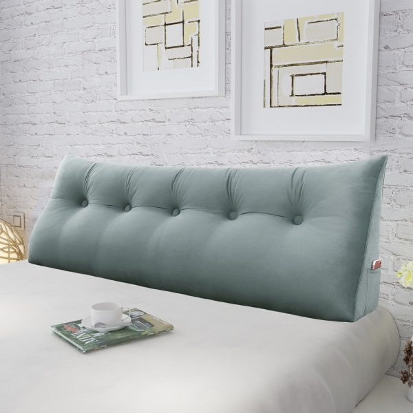 Wedge pillow 59inch Gray 05