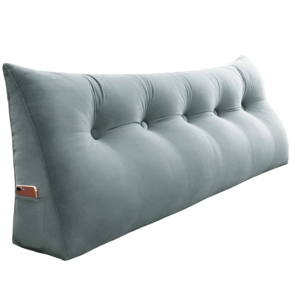 Wedge pillow 59inch Gray 08