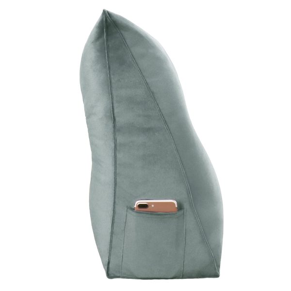 Wedge pillow 59inch Gray 16