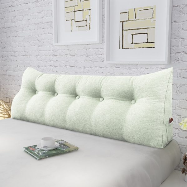 Wedge pillow 59inch ivory 03