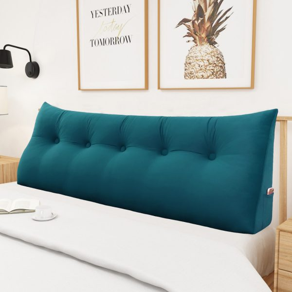 backrest pillow 59inch royal blue 06