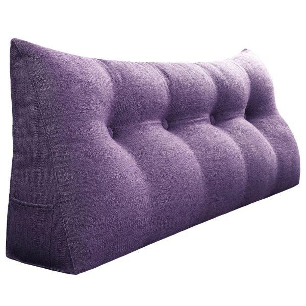 964 backrest pillow 47inch purplee 1