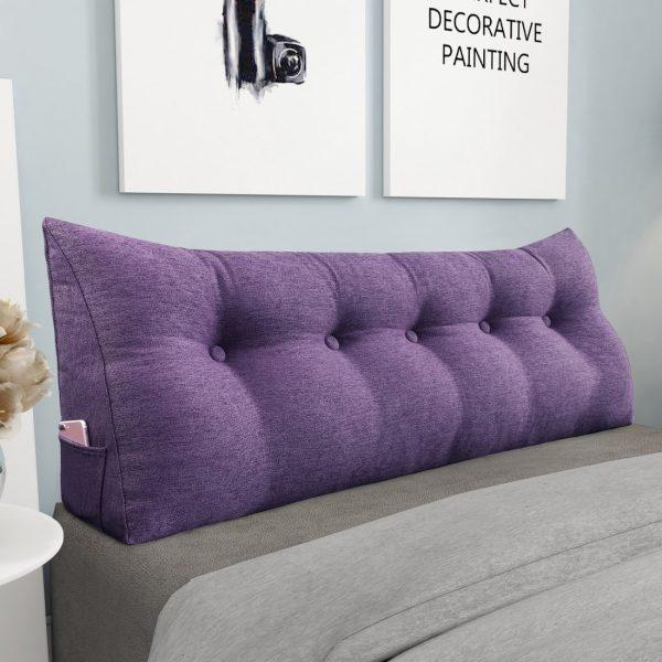 964 backrest pillow 59inch purplee 2