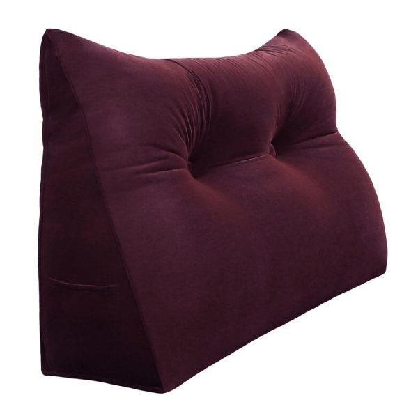 965 backrest pillow 24inch wine 1