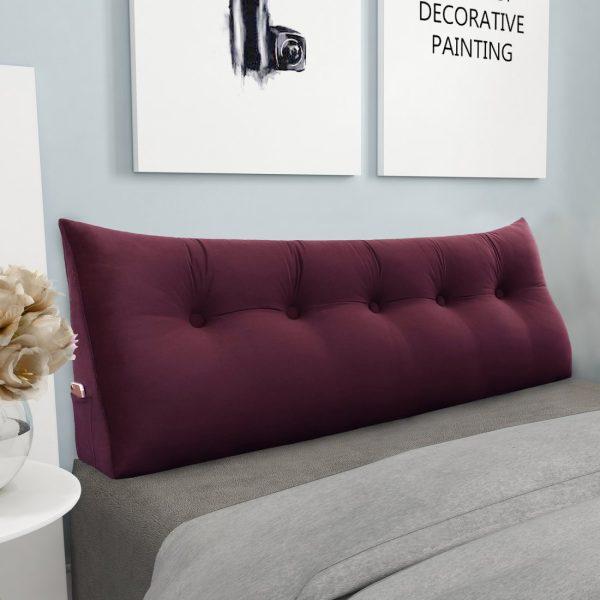 965 backrest pillow 59inch wine 3