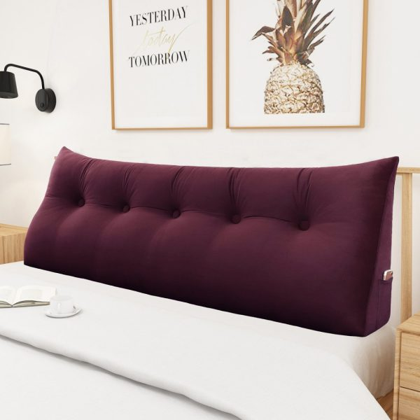 965 backrest pillow 59inch wine 4