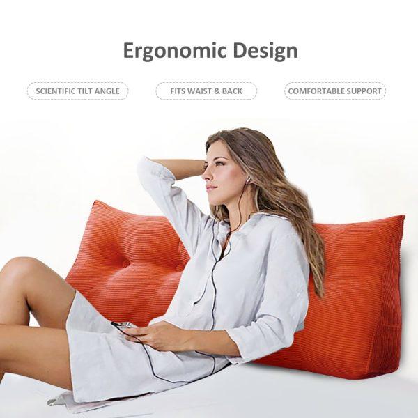 996 wedge pillow cushion 25