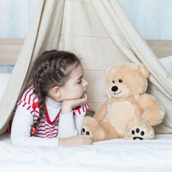 Daney teddy bear 25 light brown 001