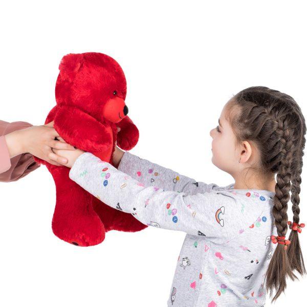 Daney teddy bear 25 red 004