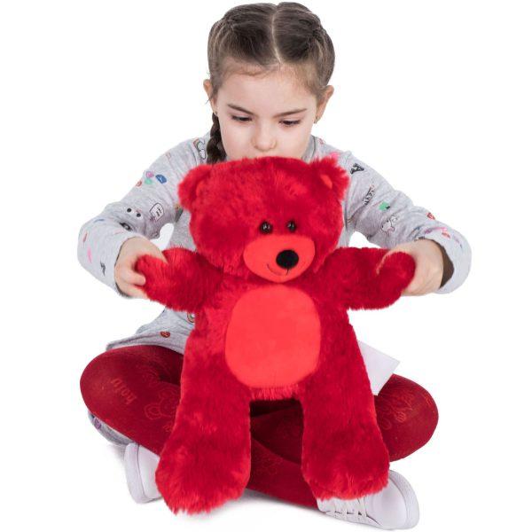 Daney teddy bear 25 red 006