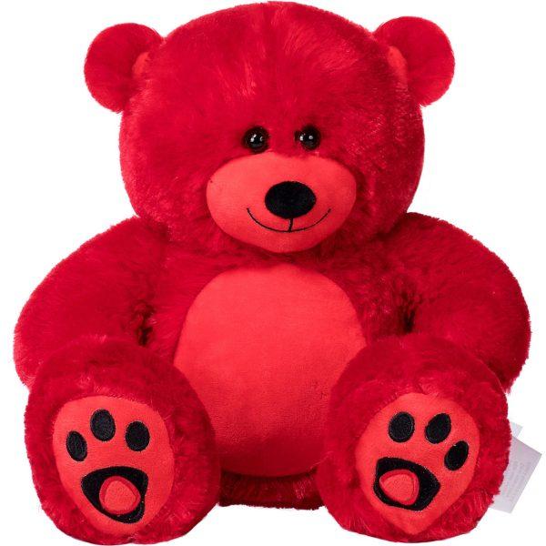 Daney teddy bear 25 red 011