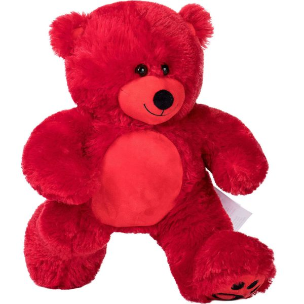 Daney teddy bear 25 red 012