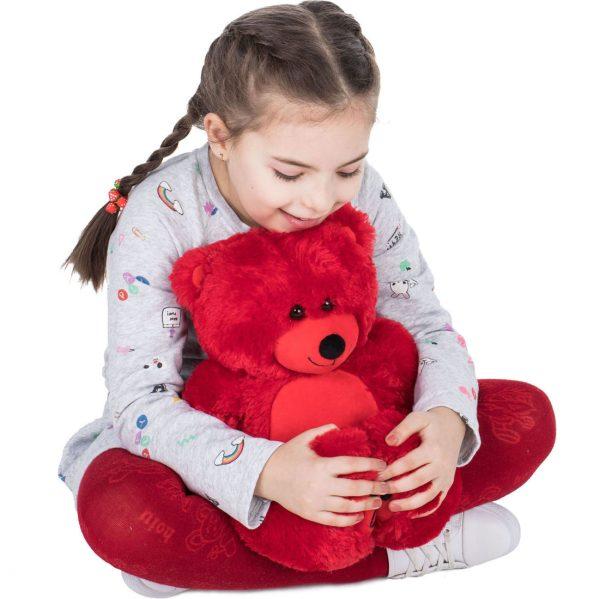 Daney teddy bear 25 red 017