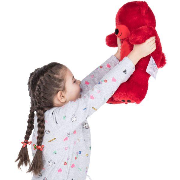Daney teddy bear 25 red 018