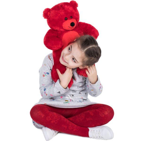 Daney teddy bear 25 red 021