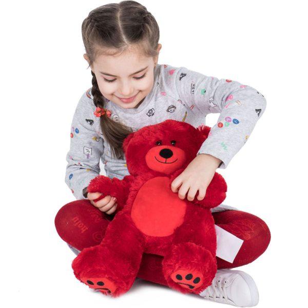 Daney teddy bear 25 red 022