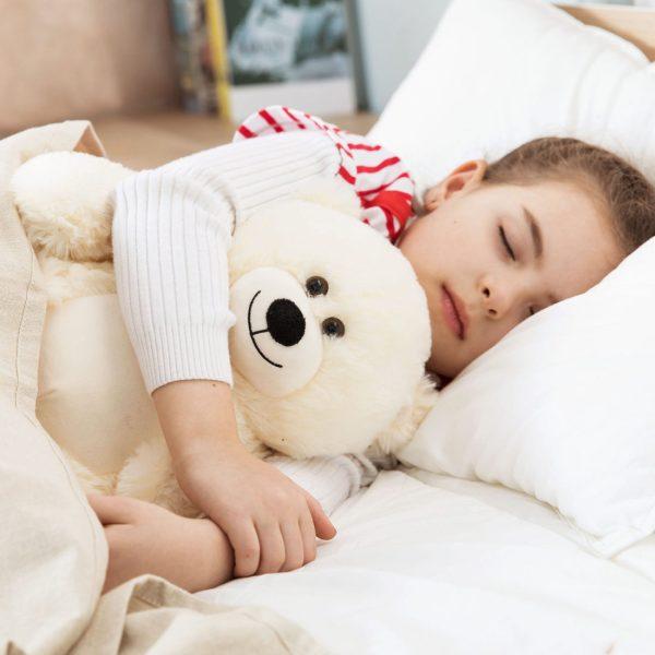 Daney teddy bear 25 white 002