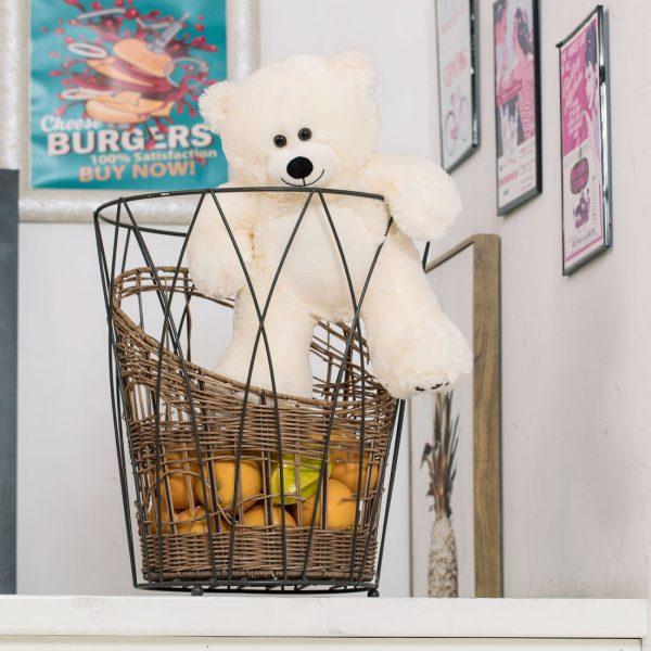 Daney teddy bear 25 white 007