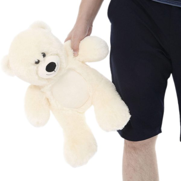 Daney teddy bear 25 white 008
