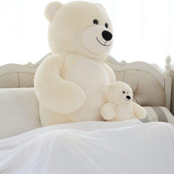 Daney teddy bear 25 white 014