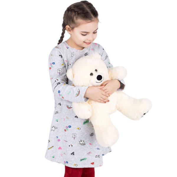 Daney teddy bear 25 white 015