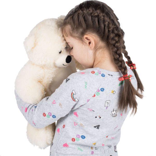 Daney teddy bear 25 white 016