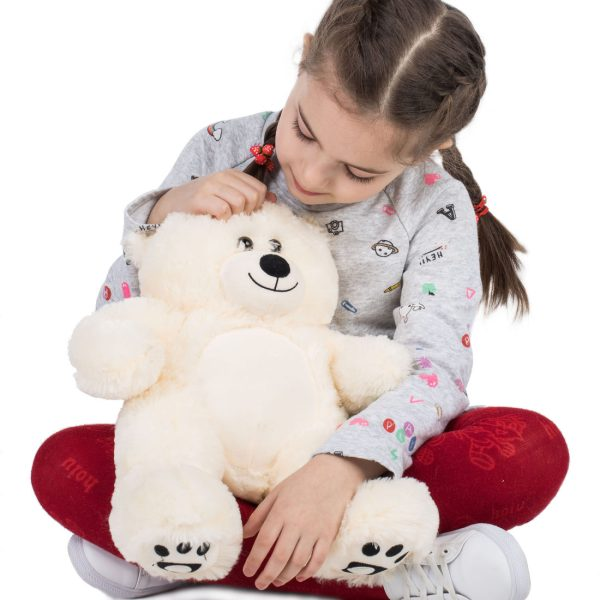 Daney teddy bear 25 white 017