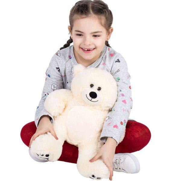 Daney teddy bear 25 white 018