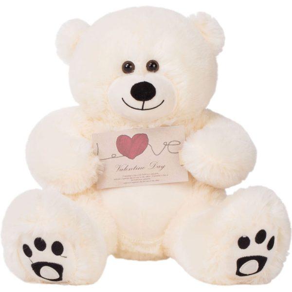 Daney teddy bear 25 white 019
