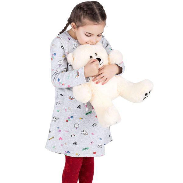 Daney teddy bear 25 white 021