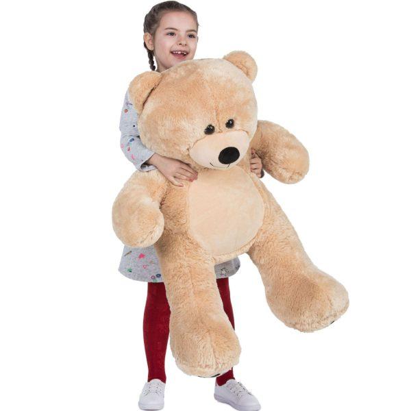 Daney teddy bear 3foot light brown 003