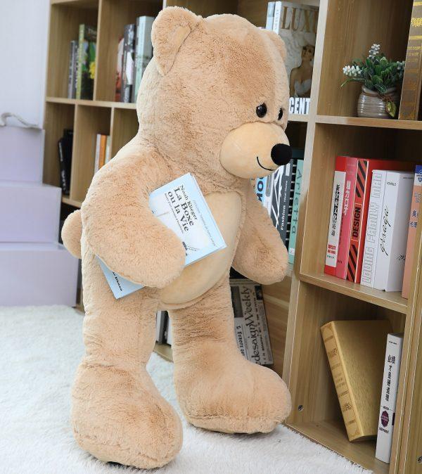 Daney teddy bear 3foot light brown 005
