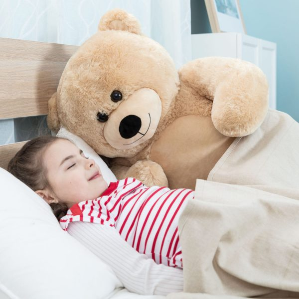 Daney teddy bear 3foot light brown 009