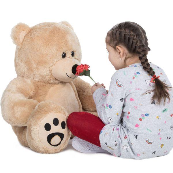 Daney teddy bear 3foot light brown 010