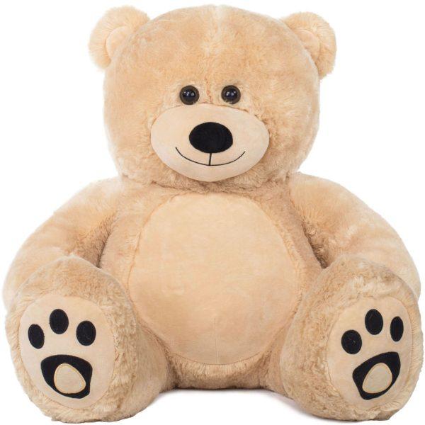 Daney teddy bear 3foot light brown 013