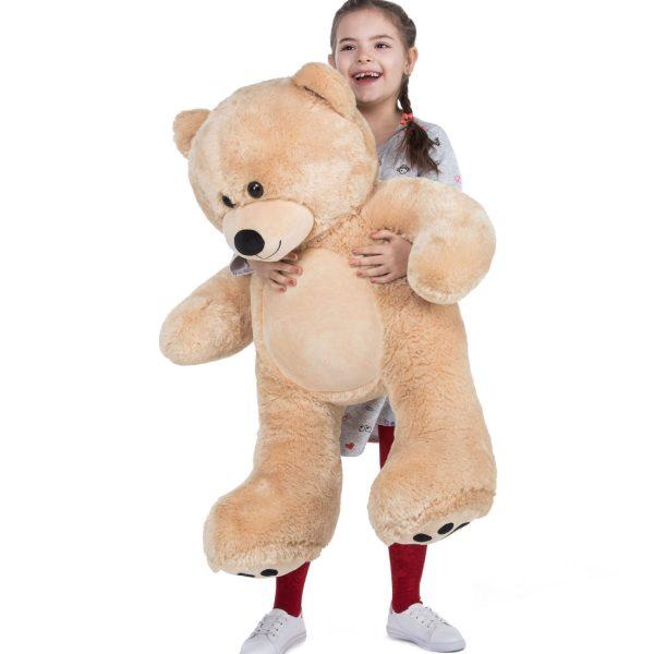 Daney teddy bear 3foot light brown 020