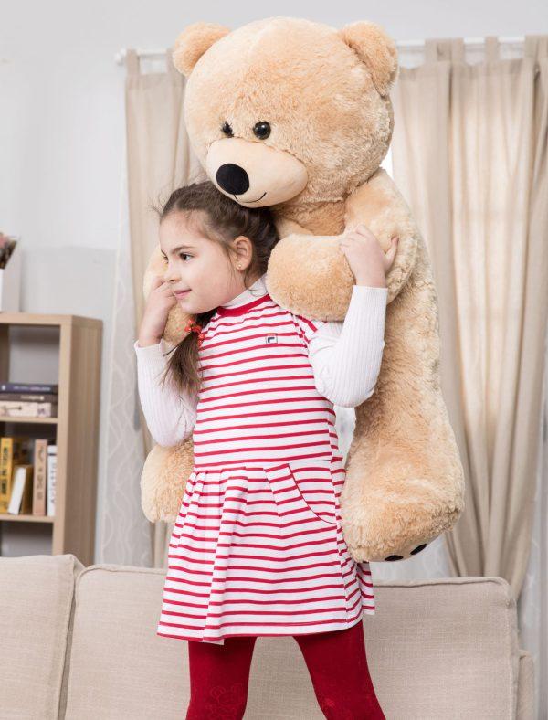 Daney teddy bear 3foot light brown 021