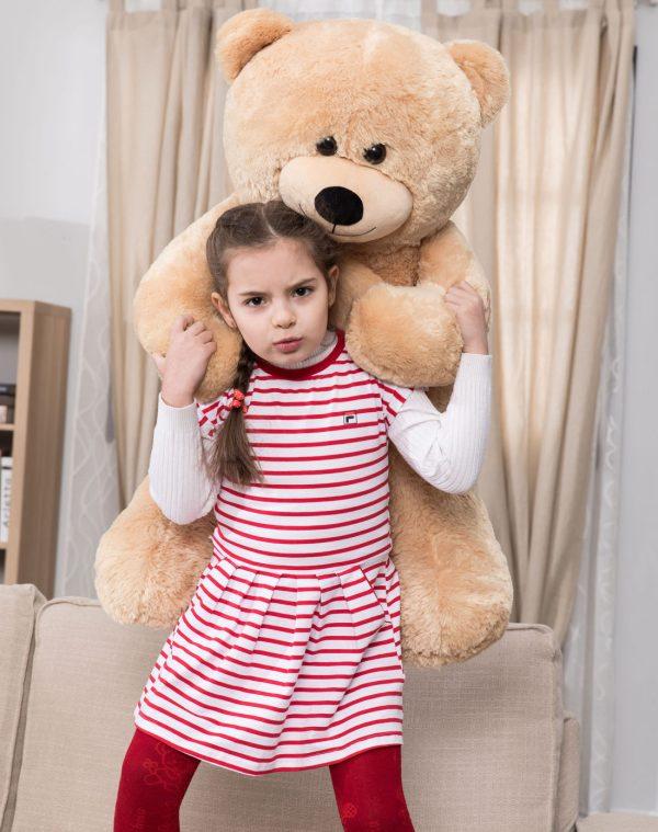 Daney teddy bear 3foot light brown 023